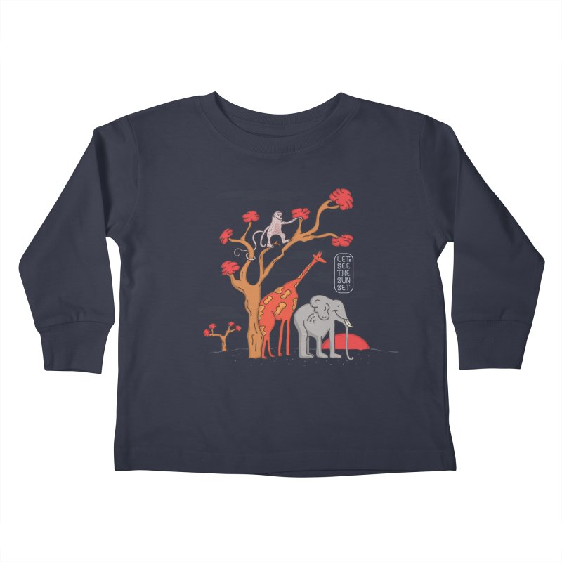 AWF - Let's See The Sunset-Day Kids Toddler Longsleeve T-Shirt by darruda's Artist Shop