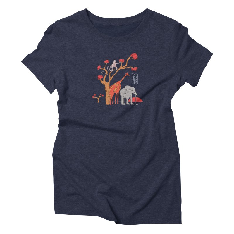 AWF - Let's See The Sunset-Day Women's Triblend T-shirt by darruda's Artist Shop