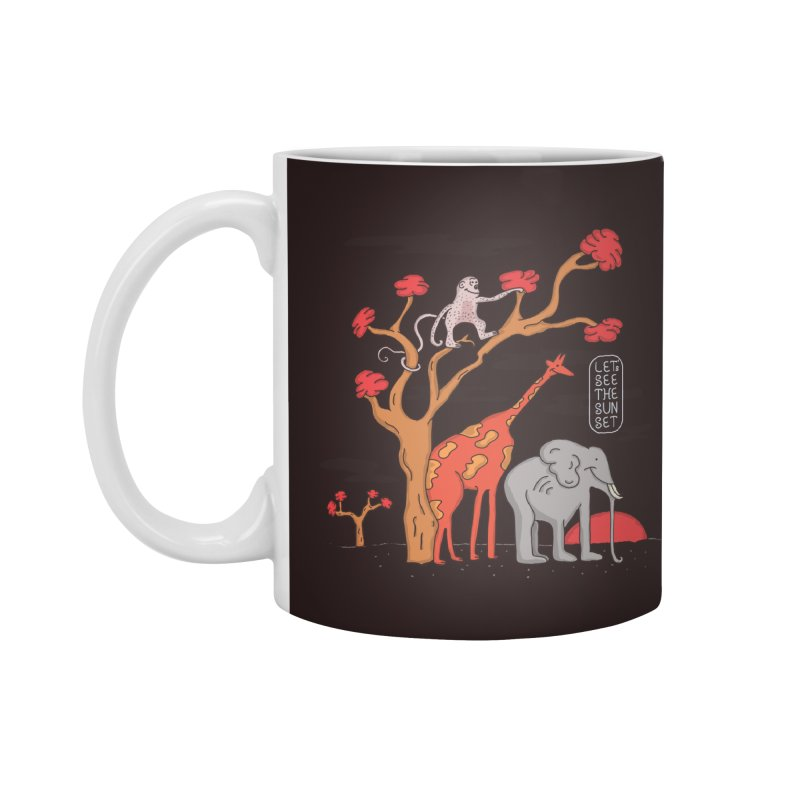 AWF - Let's See The Sunset-Day Accessories Mug by darruda's Artist Shop