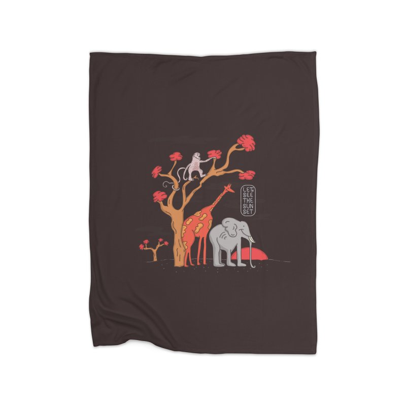 AWF - Let's See The Sunset-Day Home Blanket by darruda's Artist Shop