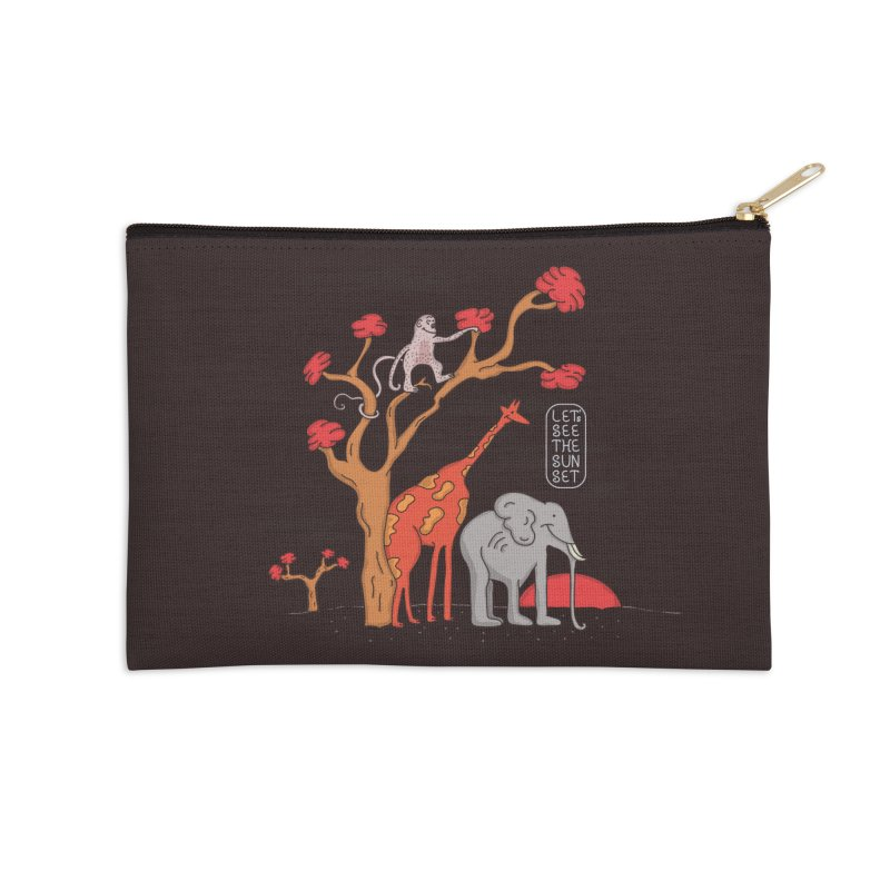 AWF - Let's See The Sunset-Day Accessories Zip Pouch by darruda's Artist Shop
