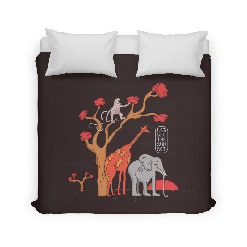 AWF - Let's See The Sunset-Day Home Duvet by darruda's Artist Shop