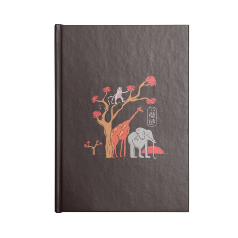 AWF - Let's See The Sunset-Day Accessories Notebook by darruda's Artist Shop
