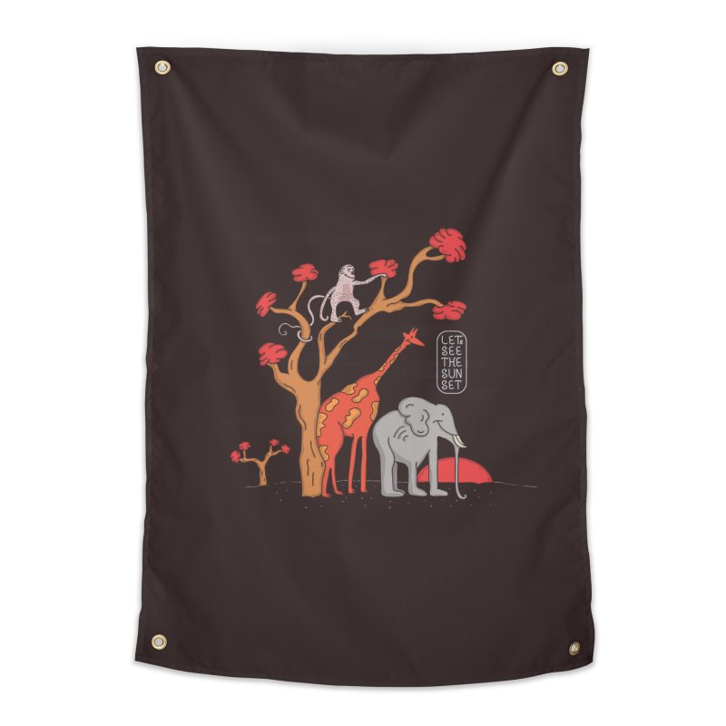 AWF - Let's See The Sunset-Day Home Tapestry by darruda's Artist Shop