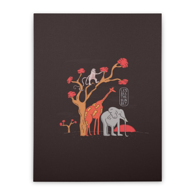 AWF - Let's See The Sunset-Day Home Stretched Canvas by darruda's Artist Shop