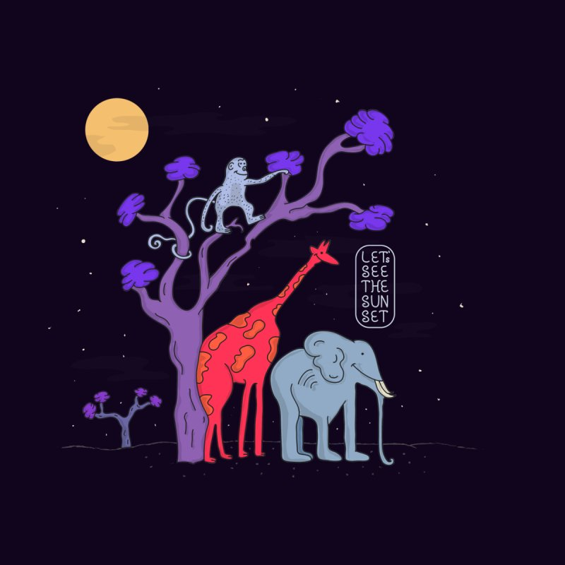 AWF - Let's See The Sunset-Night by darruda's Artist Shop