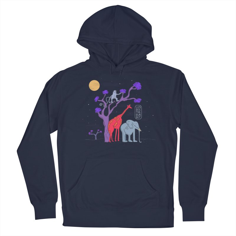 AWF - Let's See The Sunset-Night Women's Pullover Hoody by darruda's Artist Shop