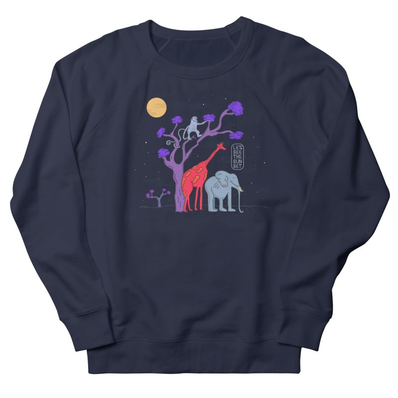 AWF - Let's See The Sunset-Night Women's Sweatshirt by darruda's Artist Shop