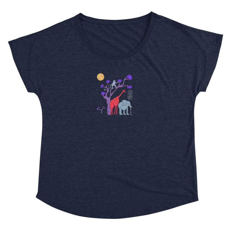 AWF - Let's See The Sunset-Night Women's Dolman by darruda's Artist Shop