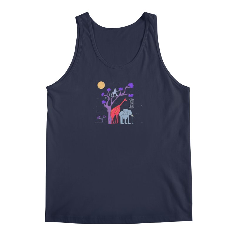AWF - Let's See The Sunset-Night Men's Tank by darruda's Artist Shop