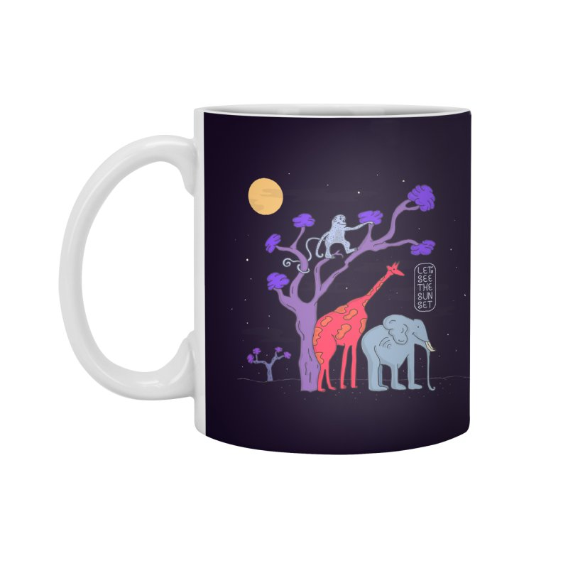 AWF - Let's See The Sunset-Night Accessories Mug by darruda's Artist Shop
