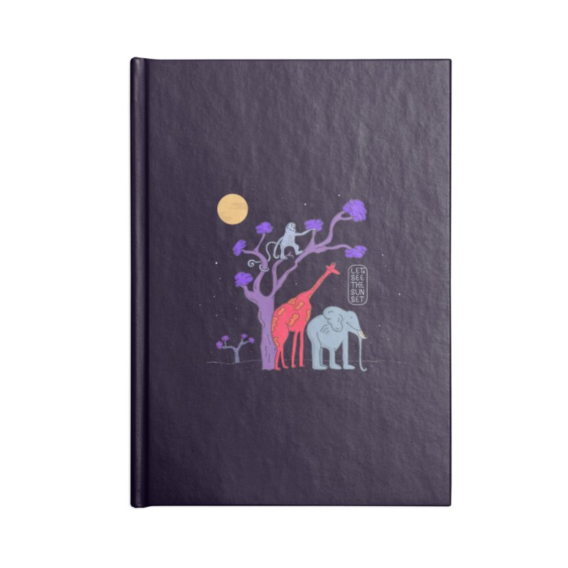 AWF - Let's See The Sunset-Night Accessories Notebook by darruda's Artist Shop