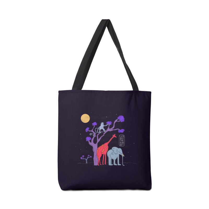 AWF - Let's See The Sunset-Night Accessories Bag by darruda's Artist Shop