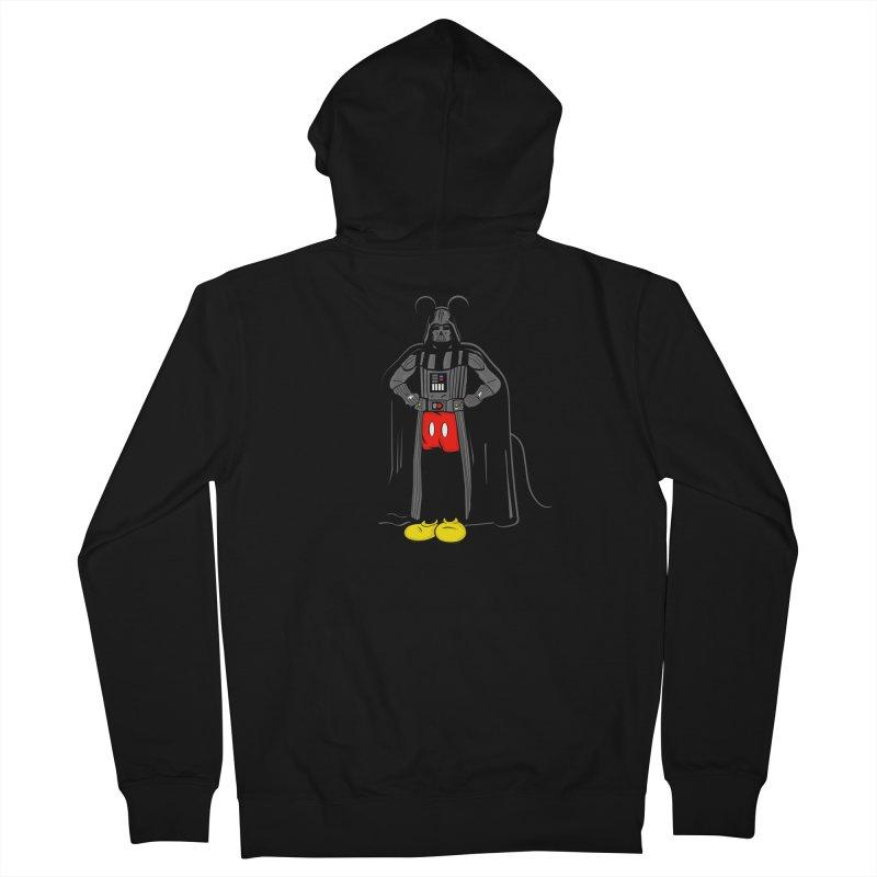 Darth Mouse Men's Zip-Up Hoody by darruda's Artist Shop