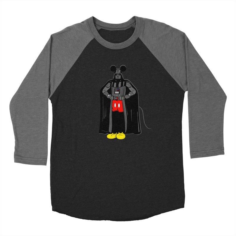 Darth Mouse Women's Baseball Triblend T-Shirt by darruda's Artist Shop