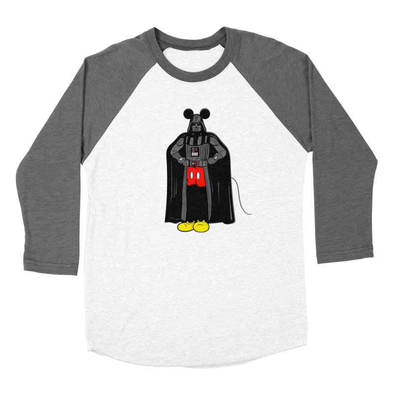 Darth Mouse Men's Baseball Triblend T-Shirt by darruda's Artist Shop