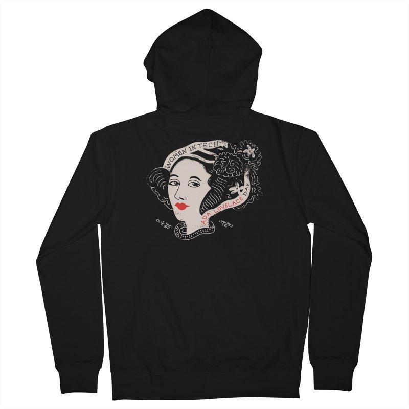 Ada LoveLace T-Shirt Women's Zip-Up Hoody by darruda's Artist Shop