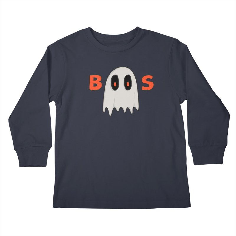 Boos Kids Longsleeve T-Shirt by darruda's Artist Shop