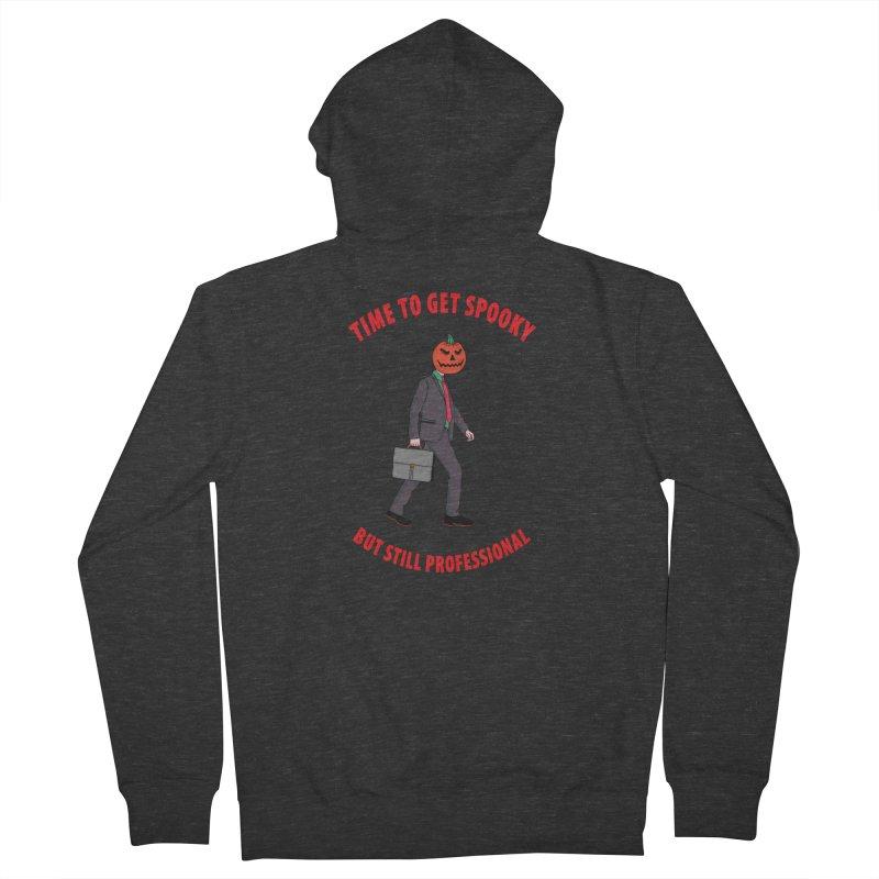 Get Spooky Men's Zip-Up Hoody by darruda's Artist Shop
