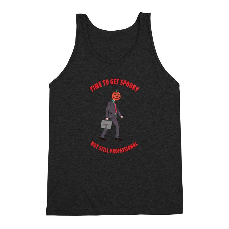 Get Spooky Men's Triblend Tank by darruda's Artist Shop