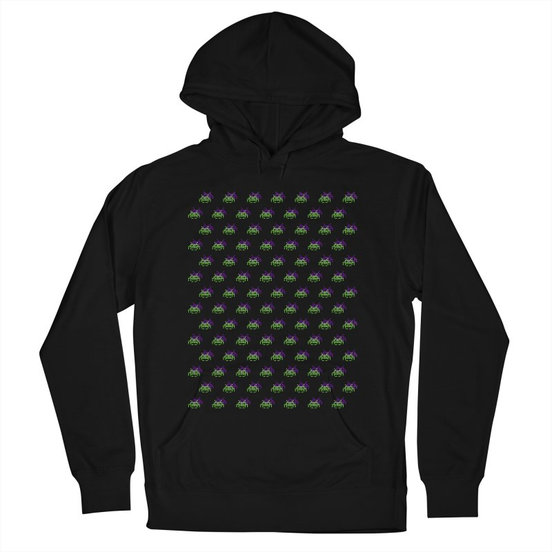 Invaders  Women's Pullover Hoody by darruda's Artist Shop
