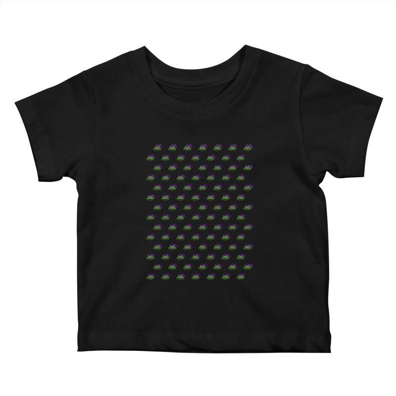 Invaders  Kids Baby T-Shirt by darruda's Artist Shop