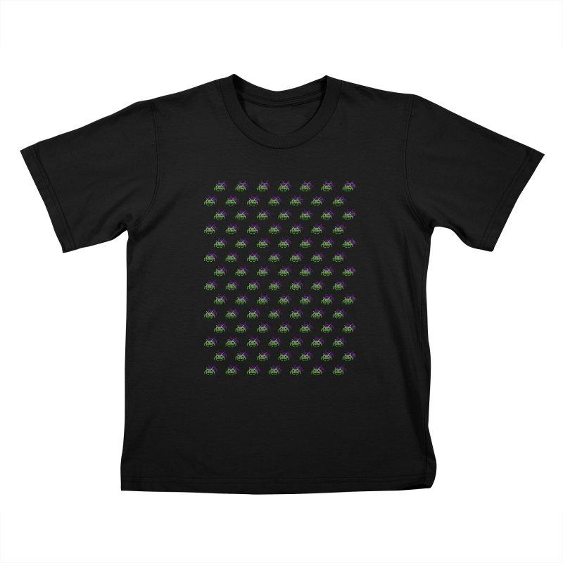 Invaders  Kids T-shirt by darruda's Artist Shop