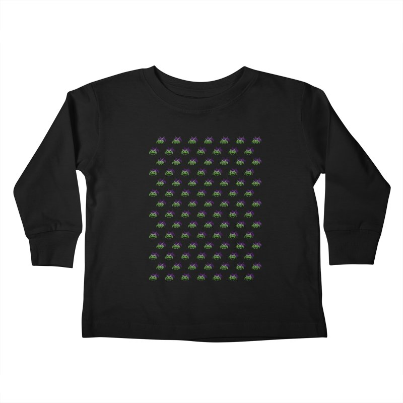 Invaders  Kids Toddler Longsleeve T-Shirt by darruda's Artist Shop
