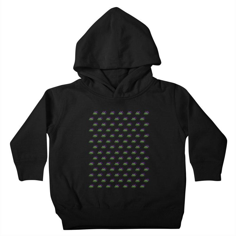 Invaders  Kids Toddler Pullover Hoody by darruda's Artist Shop