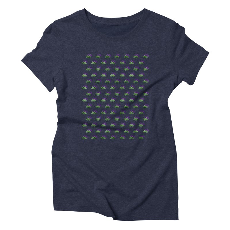 Invaders  Women's Triblend T-shirt by darruda's Artist Shop