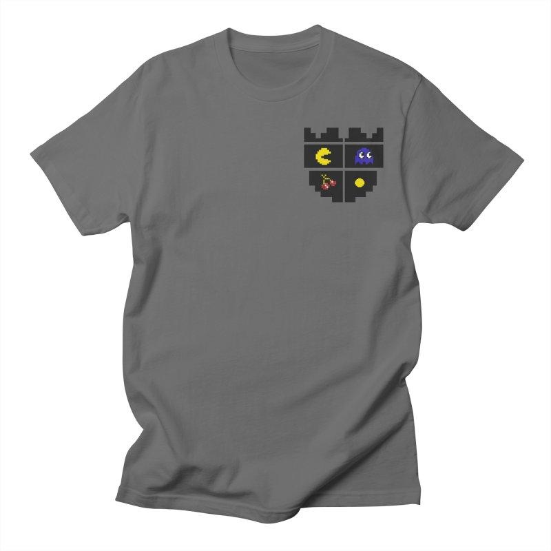 Pac Man Heart Club Men's T-shirt by darruda's Artist Shop