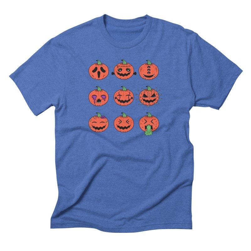 Horrorjis in Men's Triblend T-shirt Blue Triblend by darruda's Artist Shop