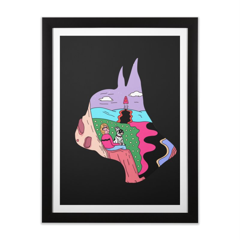 Just the Two of Us Home Framed Fine Art Print by darruda's Artist Shop