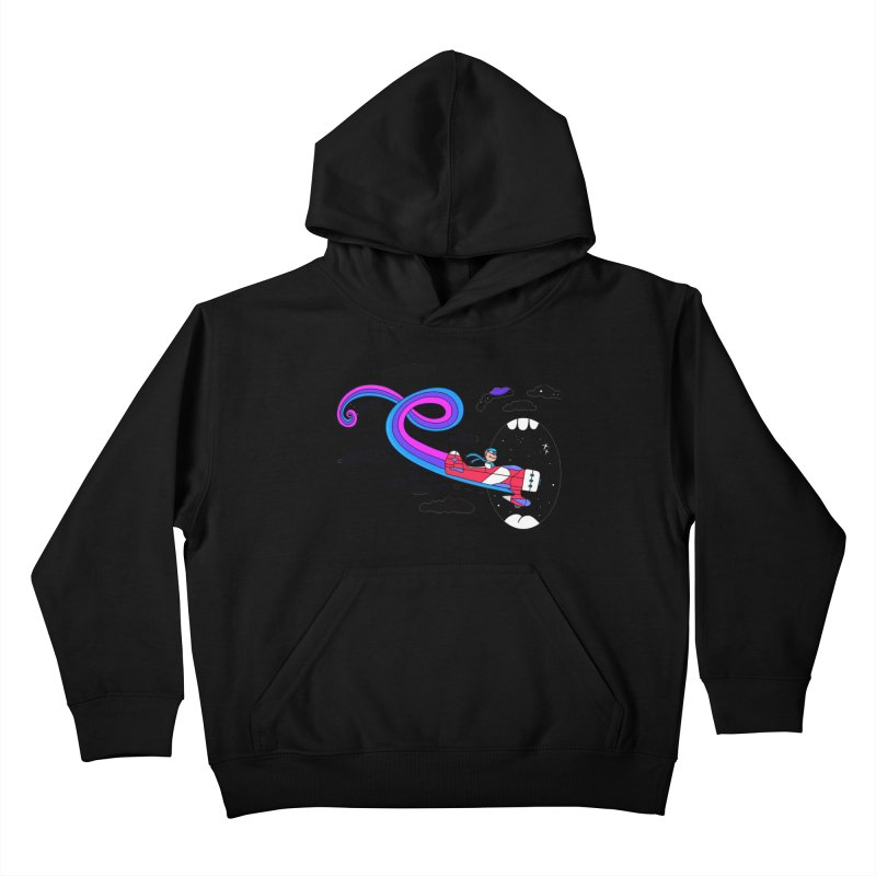 Big Mouth Kids Pullover Hoody by darruda's Artist Shop