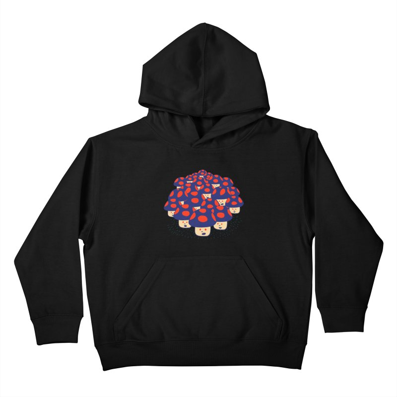 We are the Champignons Kids Pullover Hoody by darruda's Artist Shop