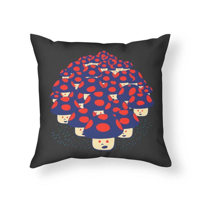 We are the Champignons Home Throw Pillow by darruda's Artist Shop