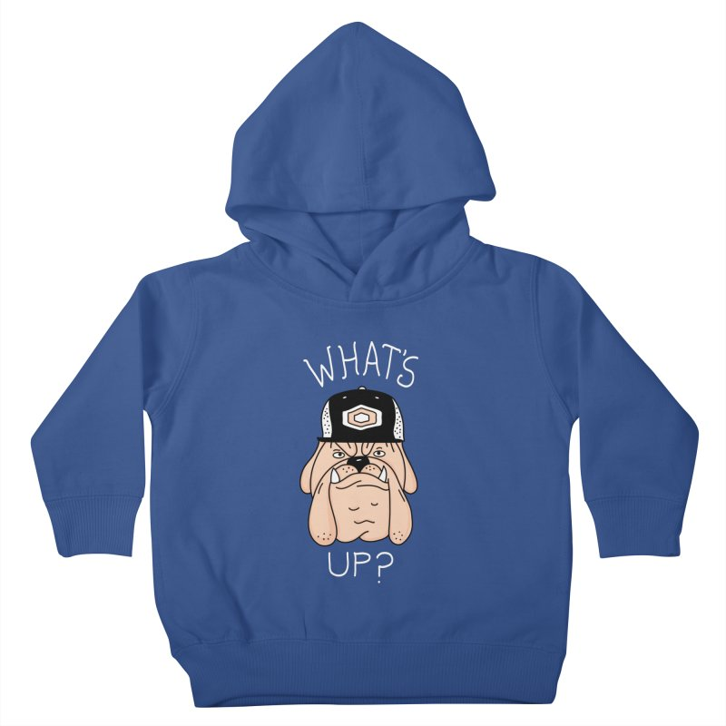 What's Up? Kids Toddler Pullover Hoody by darruda's Artist Shop