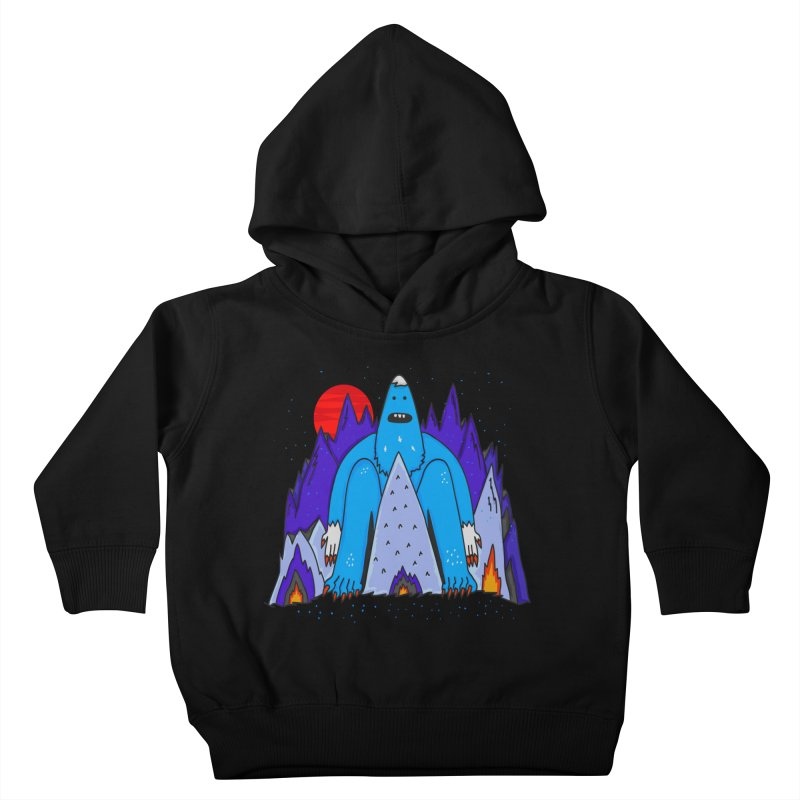 Snowman Winter Story Kids Toddler Pullover Hoody by darruda's Artist Shop