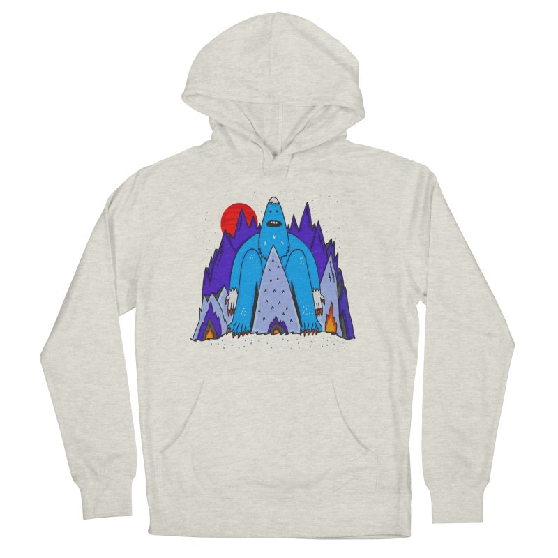 Snowman Winter Story Women's Pullover Hoody by darruda's Artist Shop