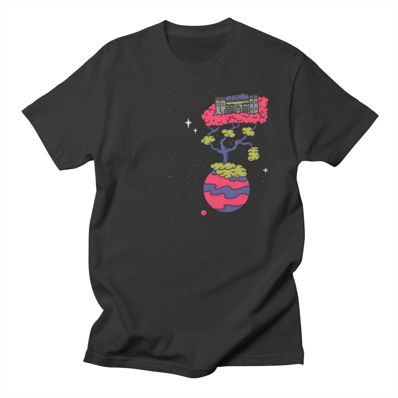 The Fortress Men's T-Shirt by darruda's Artist Shop