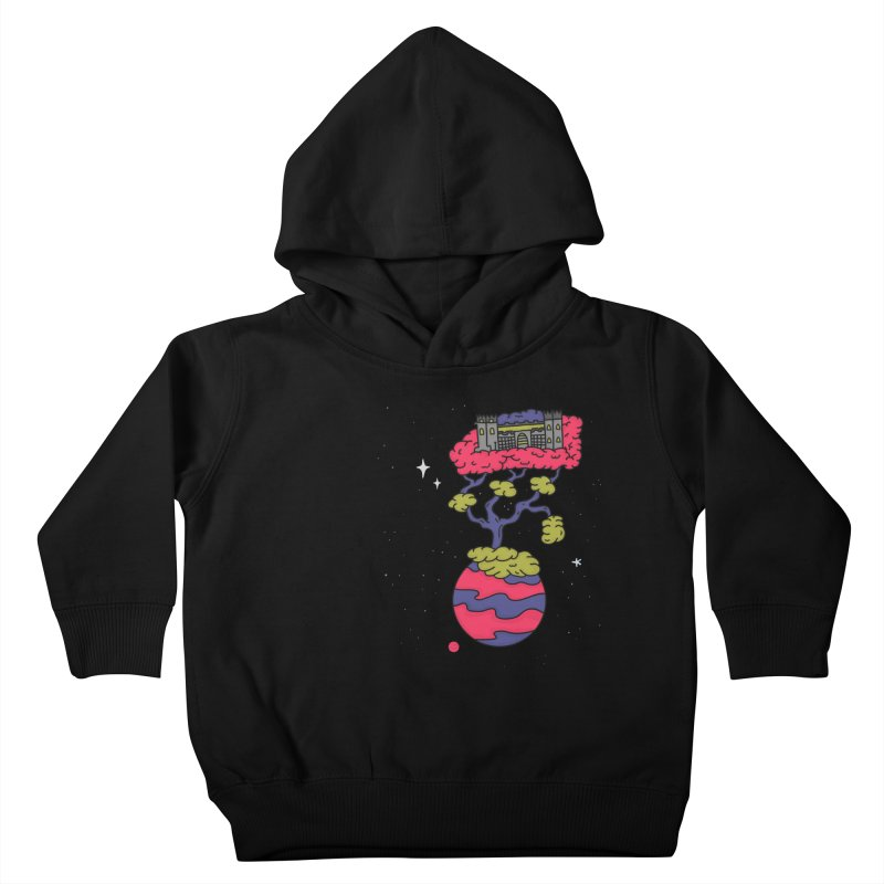 The Fortress Kids Toddler Pullover Hoody by darruda's Artist Shop