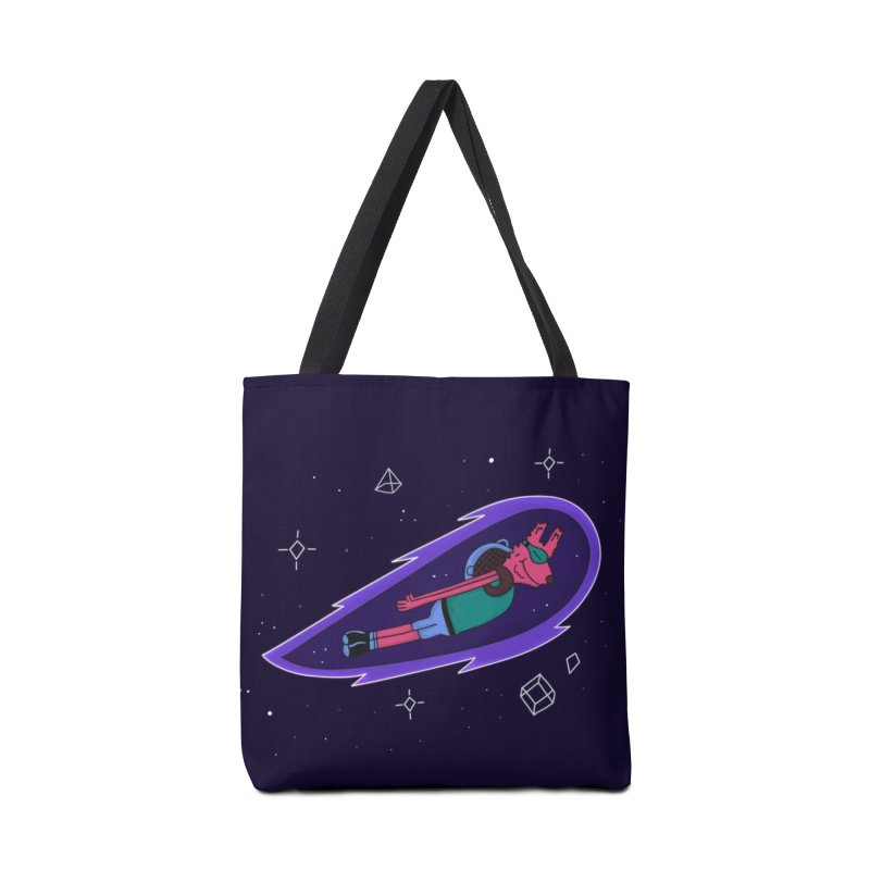 Space Dog Accessories Bag by darruda's Artist Shop