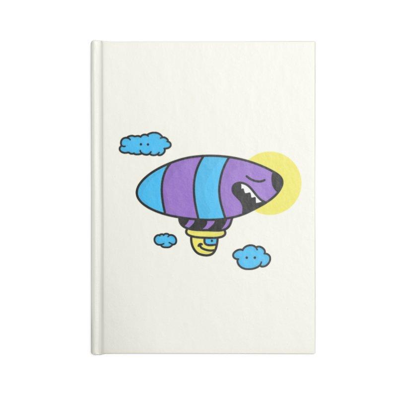 Nerd Zeppelin Accessories Notebook by darruda's Artist Shop