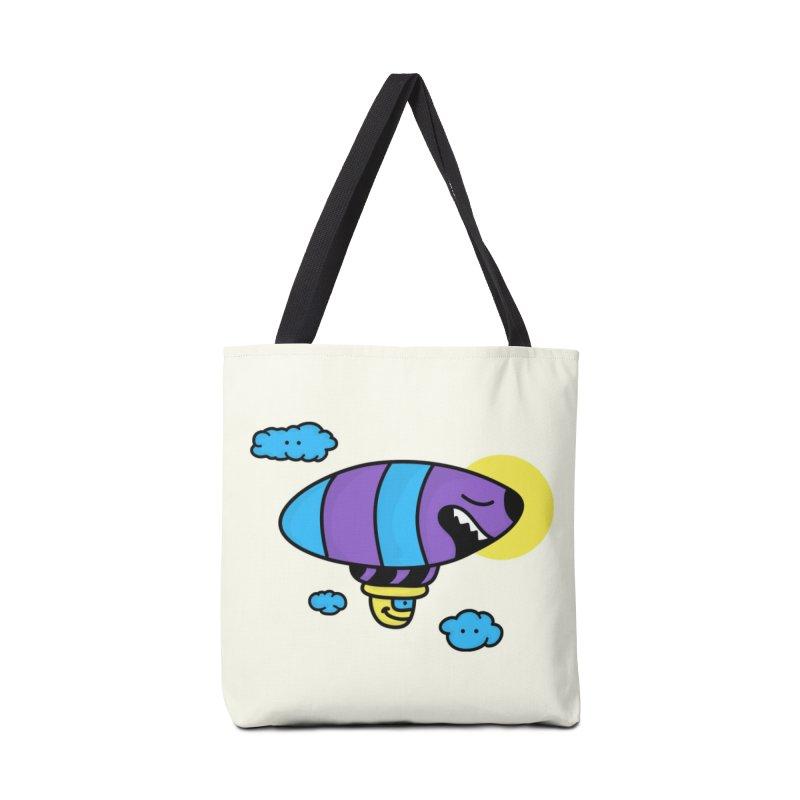 Nerd Zeppelin Accessories Bag by darruda's Artist Shop