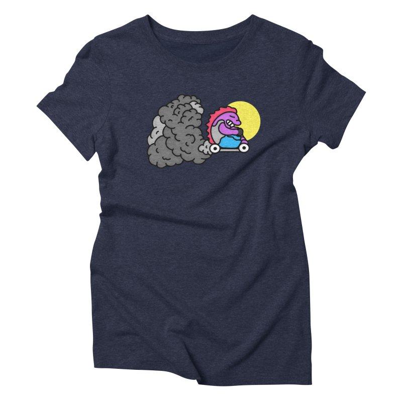 Vrrroooommmmm Women's Triblend T-Shirt by darruda's Artist Shop