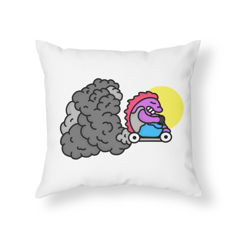 Vrrroooommmmm Home Throw Pillow by darruda's Artist Shop