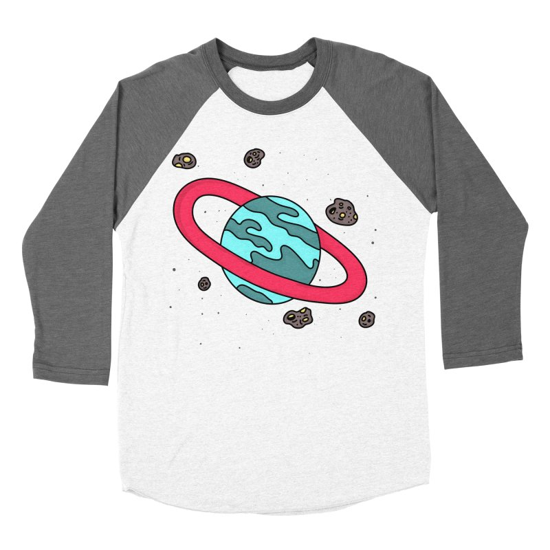 Ring of Fire Men's Baseball Triblend T-Shirt by darruda's Artist Shop
