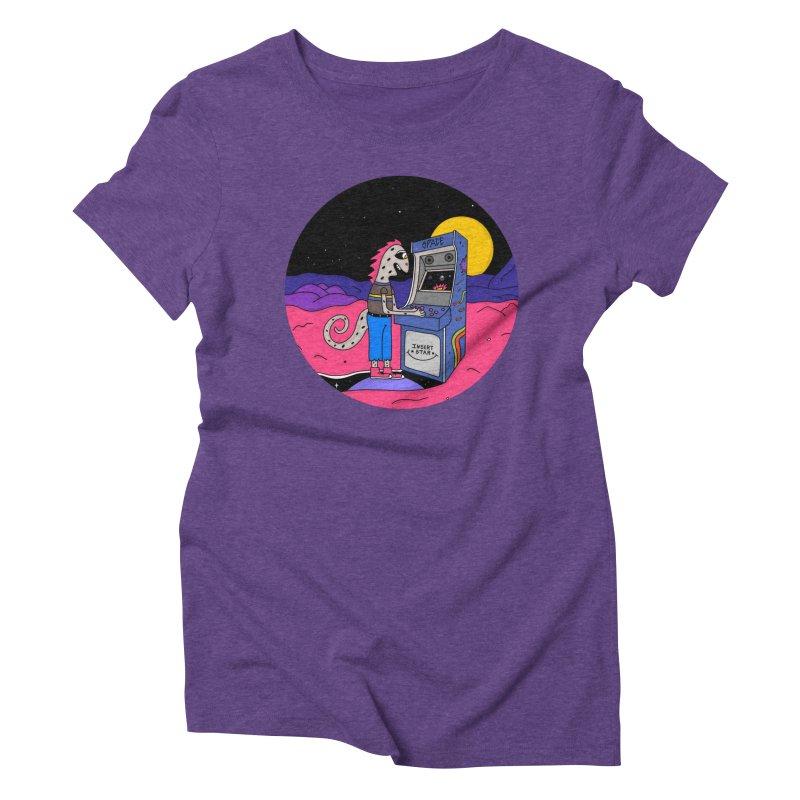 Fly by Night Women's Triblend T-Shirt by darruda's Artist Shop