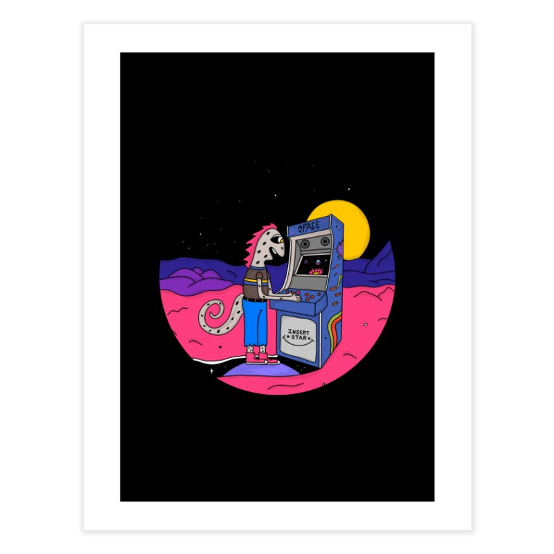 Fly by Night Home Fine Art Print by darruda's Artist Shop