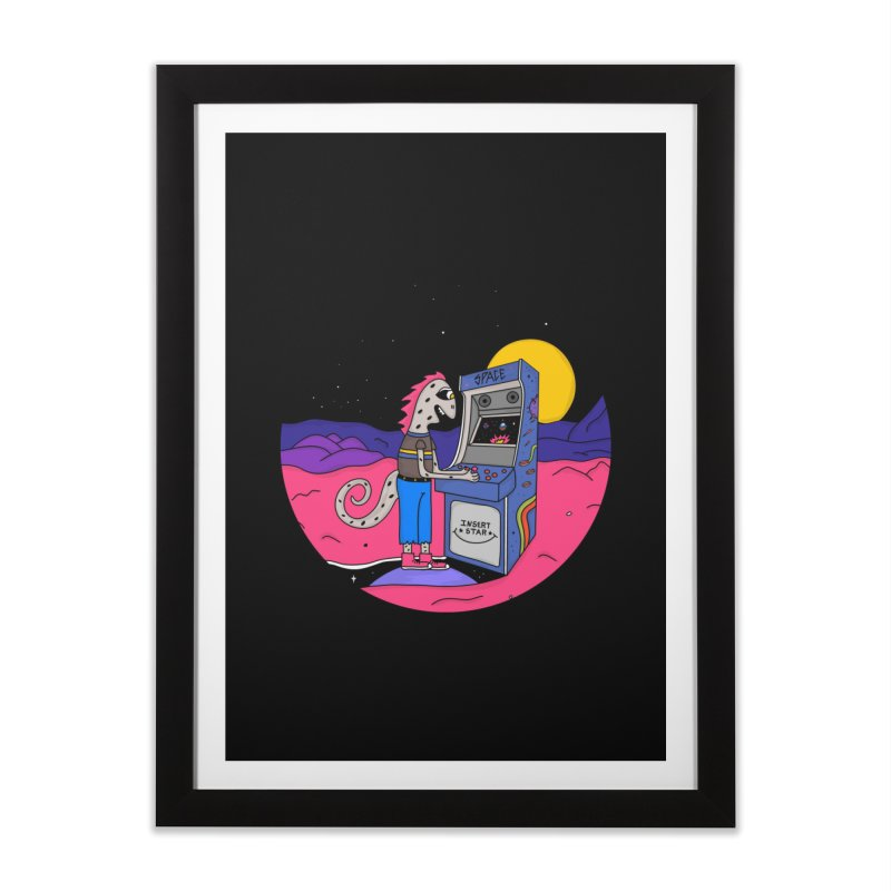 Fly by Night Home Framed Fine Art Print by darruda's Artist Shop